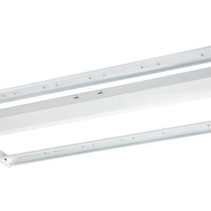 Economy Linear LED High Bay - 205 Watt, 29,725 Lumens, 5000K, 120-277 VAC, 2' x 2' Fixture Size