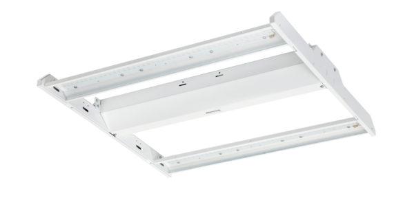 Economy Linear LED High Bay - 90 Watt, 13,000 Lumens, 5000K, 2' x 2' Fixture Size