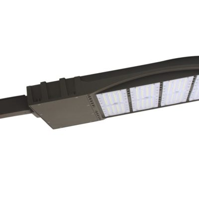 Flat Shoe Box LED Parking Lot Light - 100 Watt, 13,500 Lumens, 5000K, Square Mount Bracket